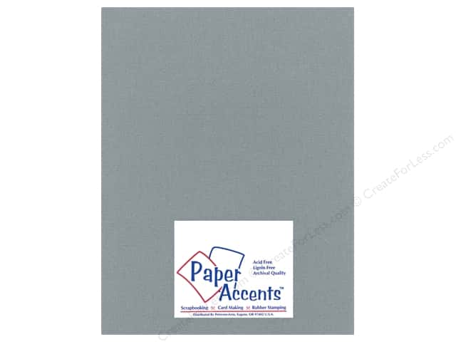 Paper Accents Cardstock 8 1/2 x 11 in. #2101006 Glimmer Granite (25 sheets)