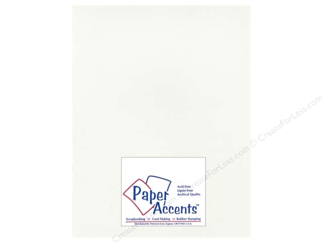 Paper Accents Cardstock 8 1/2 x 11 in. #2101004 Glimmer Icicles (25 sheets)