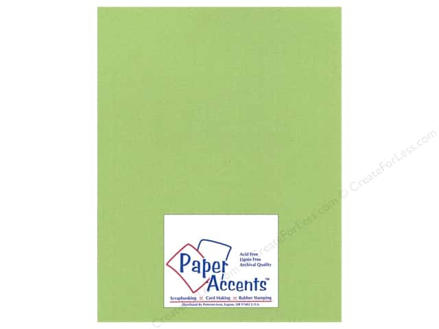 Paper Accents Cardstock 8 1/2 x 11 in. #25504 Glimmer Sparkling Apple (25 sheets)