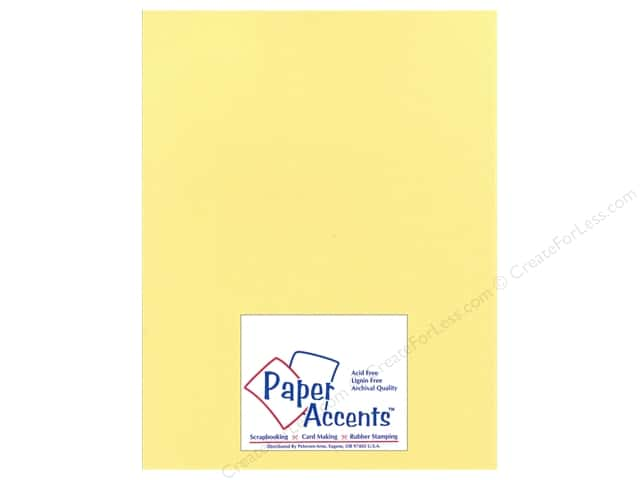 Cardstock 8 1/2 x 11 in. Glimmer Sunglow by Paper Accents (25 sheets)
