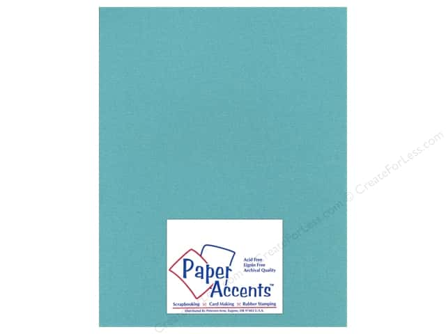 Paper Accents Cardstock 8 1/2 x 11 in. #27709 Glimmer Tropical Bay (25 sheets)