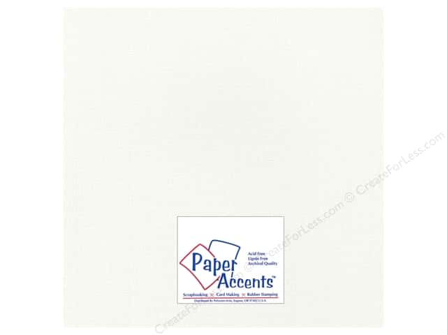 Paper Accents Cardstock 12 x 12 in. #2101004 Glimmer Icicles (25 sheets)