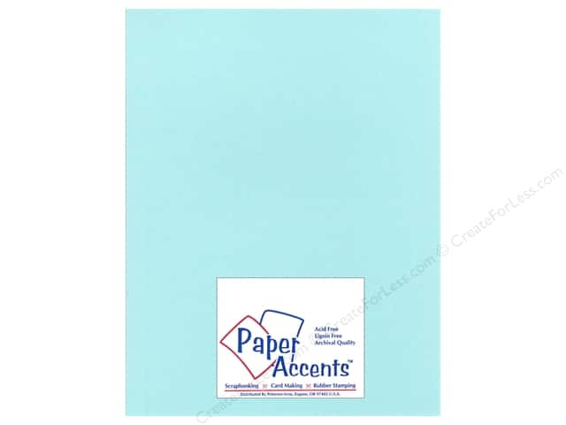 Cardstock 8 1/2 x 11 in. Glimmer Tropical Surf by Paper Accents (25 sheets)