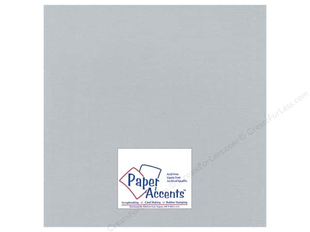 Paper Accents Cardstock 12 x 12 in. #2101005 Glimmer Polished Stone (25 sheets)