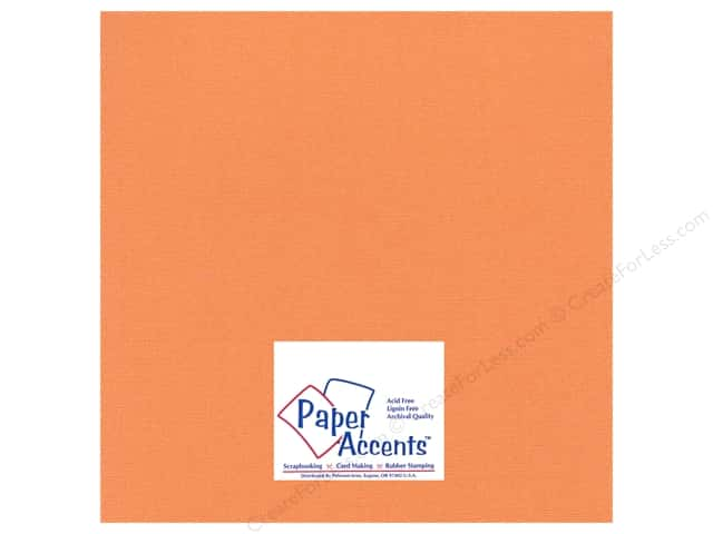 Paper Accents Cardstock 12 x 12 in. Glimmer Bittersweet (25 sheets)
