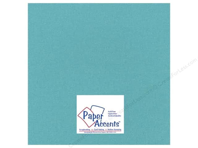 Paper Accents Cardstock 12 x 12 in. #27709 Glimmer Tropical Bay