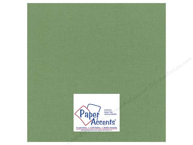 Cardstock 12 x 12 in. Glimmer Fern by Paper Accents (25 sheets)