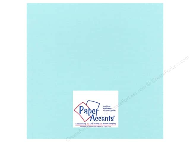 Cardstock 12 x 12 in. Glimmer Tropical Surf by Paper Accents (25 sheets)