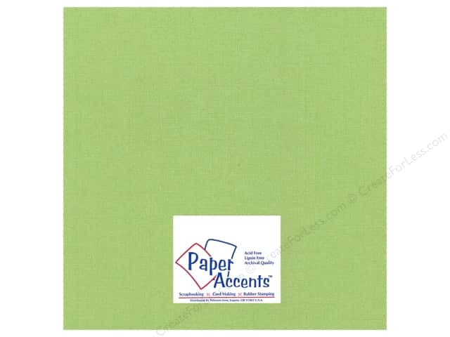 Paper Accents Cardstock 12 x 12 in. #25504 Glimmer Sparkling Apple (25 sheets)