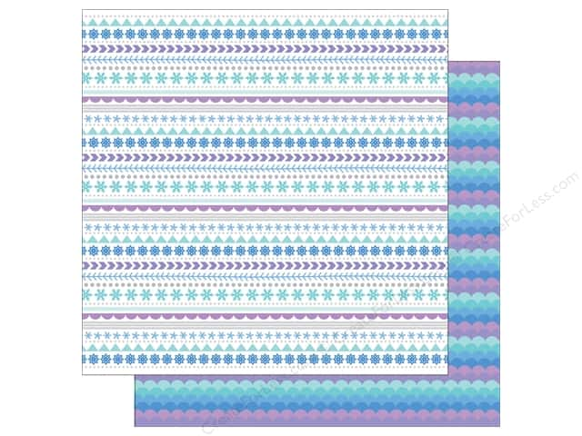 Doodlebug 12 x 12 in. Paper Polar Pals Ski Sweater (25 sheets)