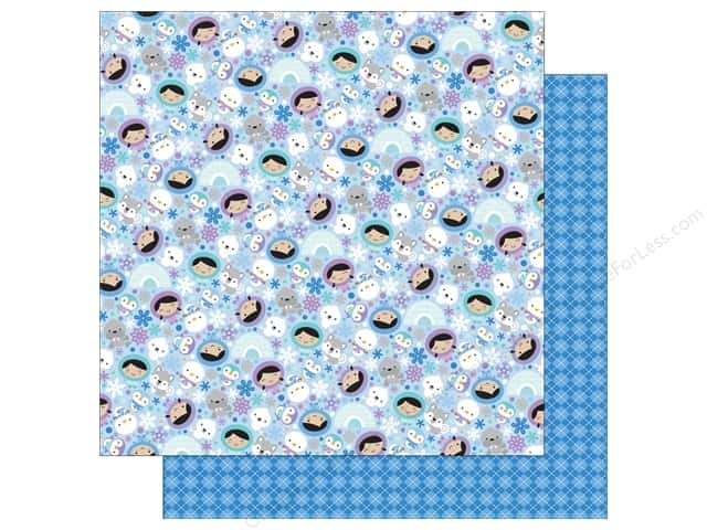 Doodlebug 12 x 12 in. Paper Polar Pals (25 sheets)