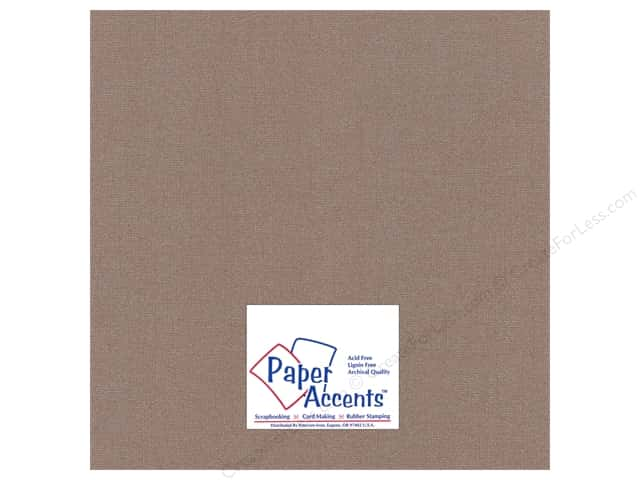 Paper Accents Cardstock 12 x 12 in. Glimmer Burley Wood (25 sheets)