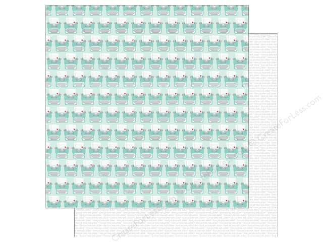 Doodlebug Paper 12 x 12 in. Sweet Things Love Letters (25 sheets)