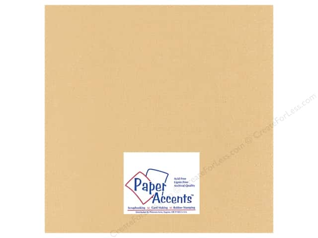 Cardstock 12 x 12 in. Glimmer Sandpaper by Paper Accents (25 sheets)