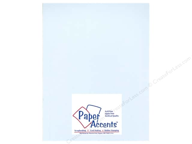 Paper Accents Cardstock 8 1/2 x 11 in. #17704 Heavyweight Smooth Blue Mist (25 sheets)