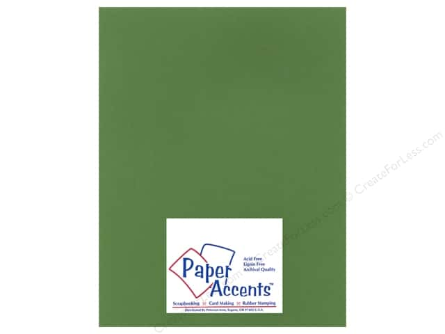 Cardstock 8 1/2 x 11 in. Heavyweight Smooth Herb Garden by Paper Accents (25 sheets)
