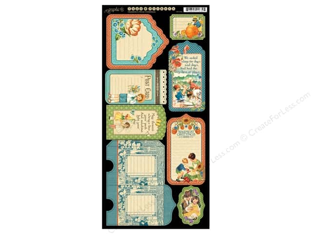 Graphic 45 Tags & Pockets Children's Hour