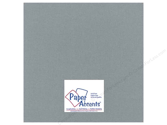 Paper Accents Cardstock 12 x 12 in. #2101006 Glimmer Granite (25 sheets)