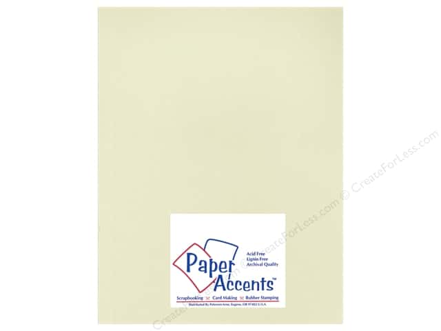 Paper Accents Cardstock 8 1/2 x 11 in. #18803 Heavyweight Smooth Shale (25 sheets)