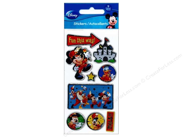 SandyLion Sticker Essentials Disney Mickey Handmade
