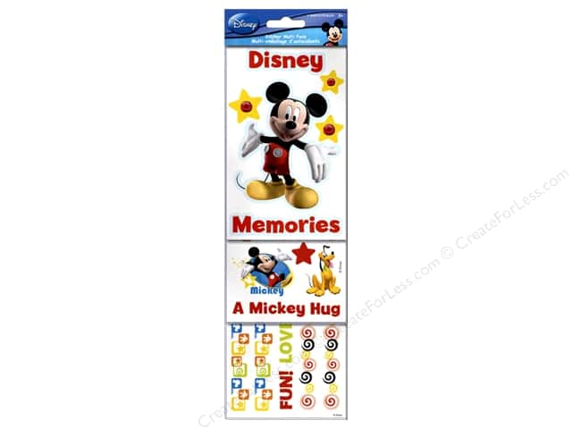 SandyLion Sticker Multi Pack Disney Mickey