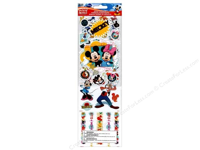 SandyLion Sticker Multi Pack Disney Mickey Friends