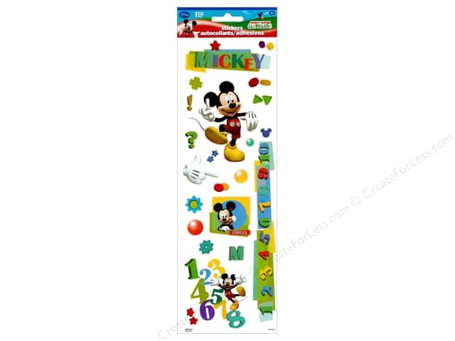 SandyLion Sticker Disney Mickey Embossed