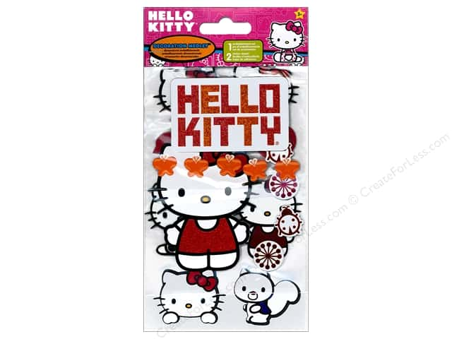 SandyLion Sticker Decoration Medley Hello Kitty