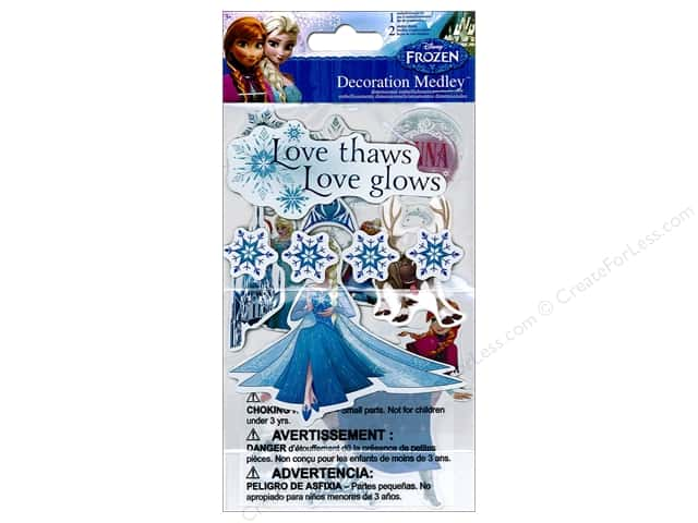 SandyLion Sticker Disney Frozen Decoration Medley