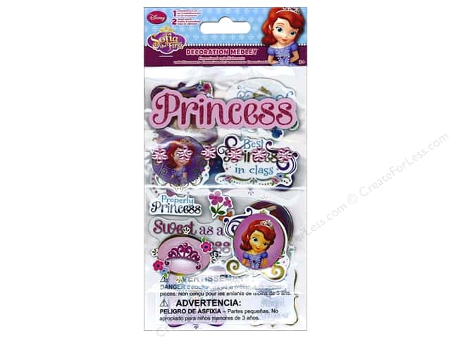 SandyLion Sticker Decoration Medley Disney Princess Sophia