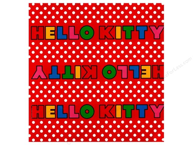 SandyLion 12 x 12 in. Paper Hello Kitty Titles (25 sheets)