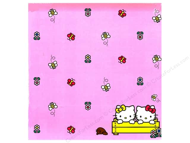 SandyLion 12 x 12 in. Paper Hello Kitty Garden (25 sheets)