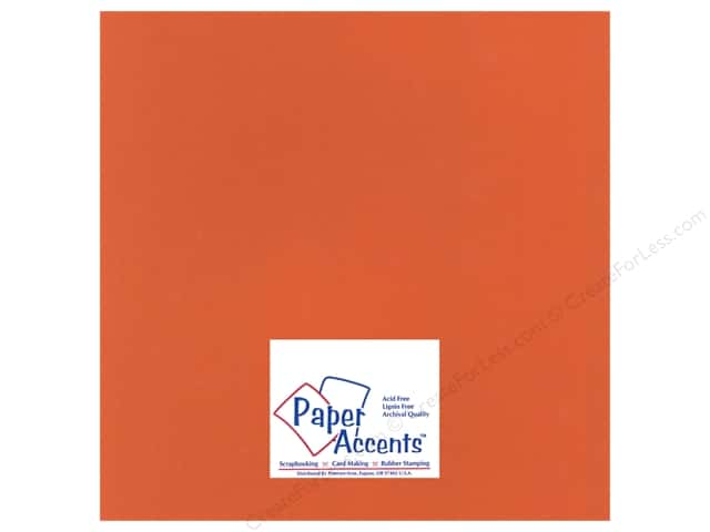 Cardstock 12 x 12 in. Heavyweight Smooth Autumn Leaves by Paper Accents (25 sheets)