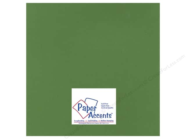 Paper Accents Cardstock 12 x 12 in. #15503 Heavyweight Smooth Herb Garden (25 sheets)