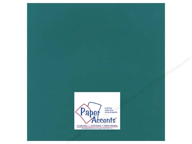 Cardstock 12 x 12 in. Heavyweight Smooth Hunter Green by Paper Accents (25 sheets)