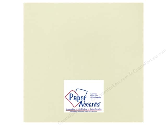 Cardstock 12 x 12 in. Heavyweight Smooth Shale by Paper Accents (25 sheets)