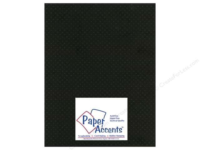 Paper Accents Cardstock 8 1/2 x 11 in. #3101012 Mini Dot Black Eyed Susan (25 sheets)