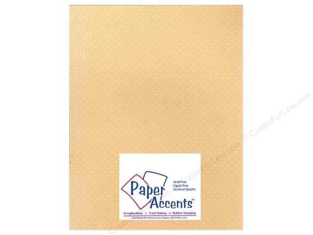 Paper Accents Cardstock 8 1/2 x 11 in. #38805 Mini Dot Cotton Grass (25 sheets)