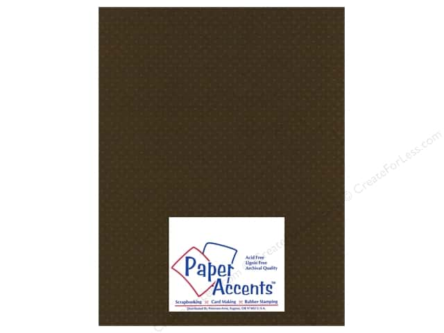 Paper Accents Cardstock 8 1/2 x 11 in. #39904 Mini Dot Night Flyer Lily