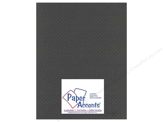 Paper Accents Cardstock 8 1/2 x 11 in. #3101010 Mini Dot Dusty Miller (25 sheets)