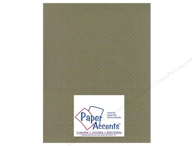 Paper Accents Cardstock 8 1/2 x 11 in. #3101009 Mini Dot Silver Lupine (25 sheets)