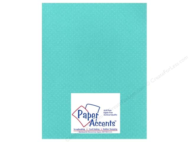 Paper Accents Cardstock 8 1/2 x 11 in. #35507 Mini Dot Sea Holly (25 sheets)