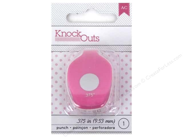 American Crafts Knock Outs Punch 3/8 in. Circle