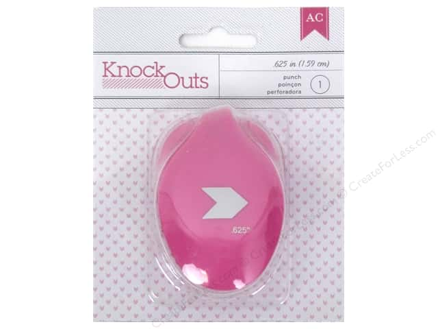 American Crafts Knock Outs Punch 5/8 in. Chevron