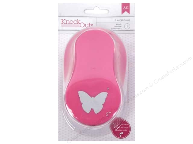 American Crafts Knock Outs Punch 2 in. Butterfly