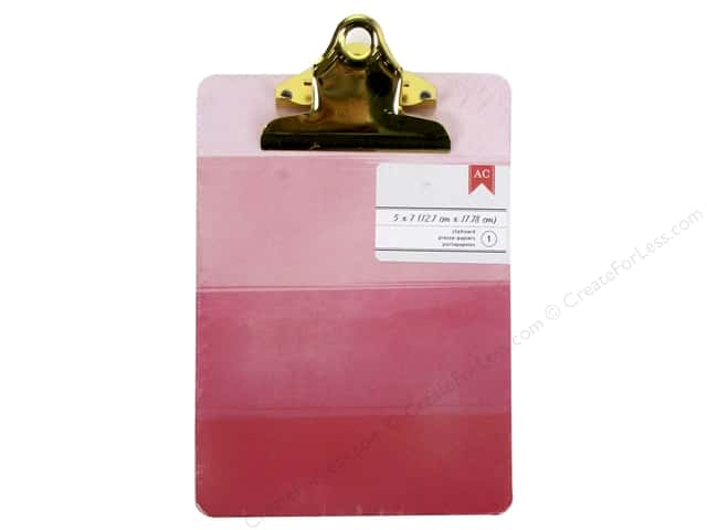 American Crafts Clipboard Mini Pink Ombre