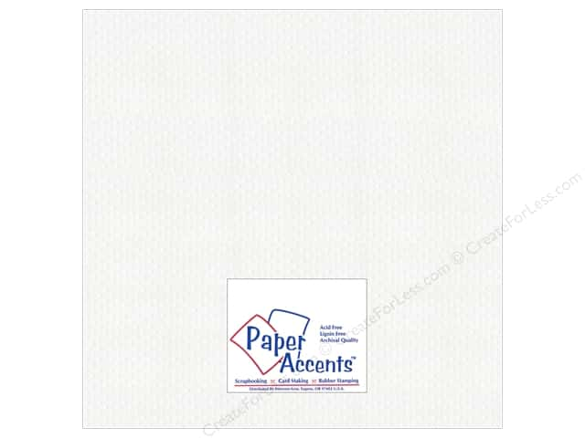 Paper Accents Cardstock 12 x 12 in. #3101011 Mini Dot Day Lily (25 sheets)