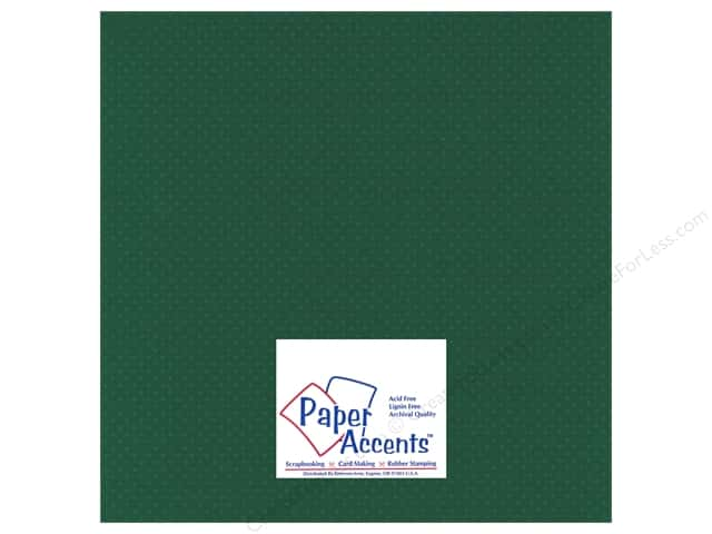 Paper Accents Cardstock 12 x 12 in. #35509 Mini Dot Fiddleneck Fern (25 sheets)