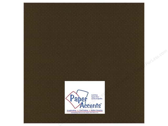 Cardstock 12 x 12 in. Mini Dot Night Flyer Lily by Paper Accents (25 sheets)