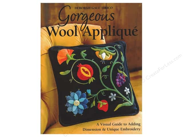 C&T Publishing Gorgeous Wool Applique Book